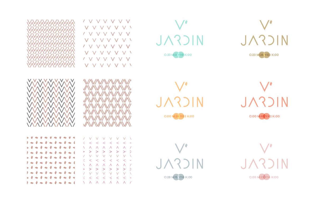 V' Jardin Kurumsal Kimlik Tasarımı